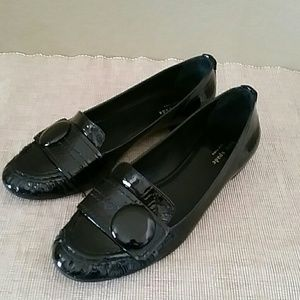 Kate Spade pantent ballet leather loafers flats 11